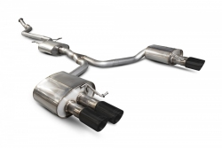 Scorpion Audi A5 B8 2.0 TFSi Resonated cat-back exhaust system