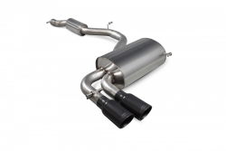 Scorpion Audi S3 8P Resonated cat-back exhaust system