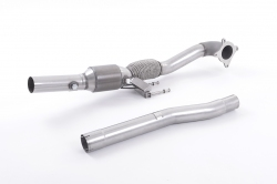 Milltek Cast Downpipe With HJS High Flow Sports Cat