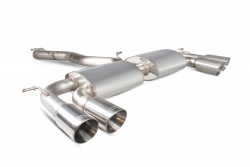 Scorpion VW Golf MK7 R Non-resonated cat-back exhaust system without valves