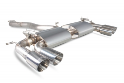 Scorpion VW Golf MK7 R Non-res cat-back exhaust system with valves
