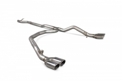 Scorpion VW T5/T6 Transporter Non-resonated cat/DPF-back exhaust system