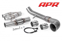 APR Cast Downpipe Exhaust System for the 2.5 TFSI TT RS and RS3!