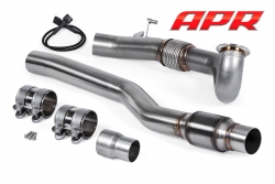 APR Cast Downpipe Exhaust System (AWD - 1.8T/2.0T EA888 Gen 3 MQB)