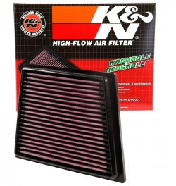 K&N Replacement Air Filter Ford Fiesta 2008-2017