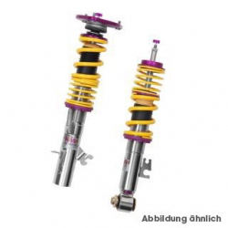 KW Clubsport Trackday Coilover Kit with Top Mounts