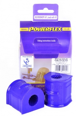 Powerflex Front Anti Roll Bar To Chassis Bushes 24mm Ford Focus MK2 RS