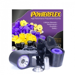 Powerflex Front Wishbone Rear Bushes Anti-Lift & Caster Offset Ford Focus