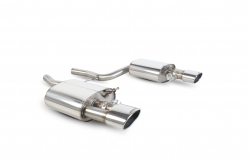 Scorpion Audi RS4 B7 4.2 V8 Rear exhaust silencer