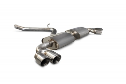 Scorpion Audi TT MK2 3.2 V6 & TT-S Non-resonated cat-back exhaust system