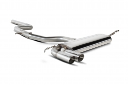 Scorpion VW Scirocco 1.4/2.0TSI & 2.0TDI Non-resonated cat-back exhaust system