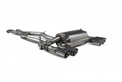 Scorpion BMW F80 M3 Non-res cat-back exhaust system with electronic valves
