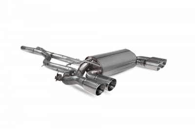 Scorpion BMW M2 Competition GPF-back exhaust system with electronic valves