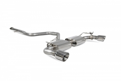 Scorpion Hyundai i30N Non-resonated cat-back exhaust system with valve
