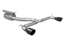 Scorpion VW Golf GTI MK7.5 Non-resonated cat-back exhaust system